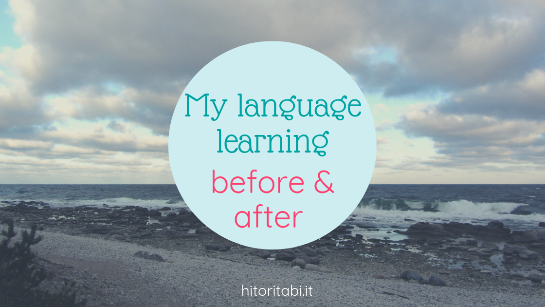 language learning before and after