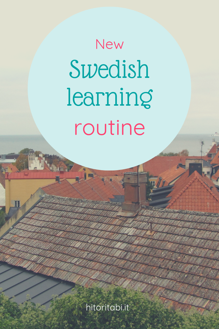 new swedish learning routine