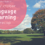 language learning recap