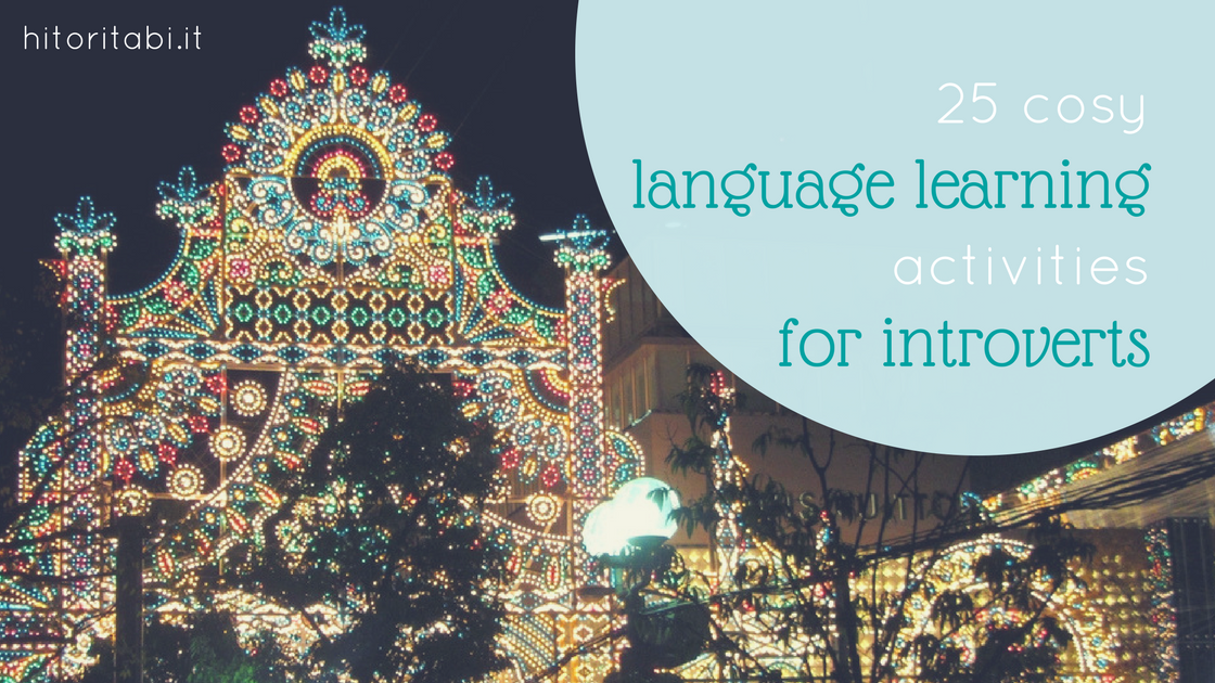 25 cosy language learning activities for introverts