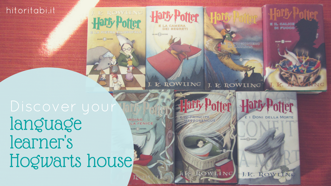What is your inner language learner's Hogwarts house?