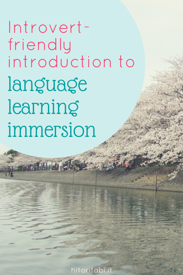 language learning immersion